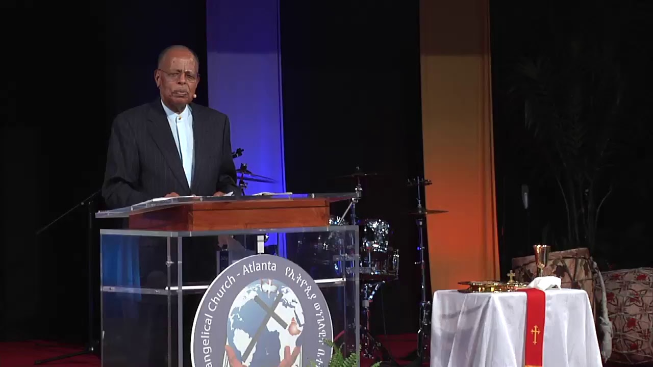 ETN Special Good Friday live program from Atlanta with Rev. Dr. Tolesa Gudina