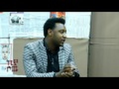 Teddy Tadesse Gospel Singer interview at kiya show Part 1